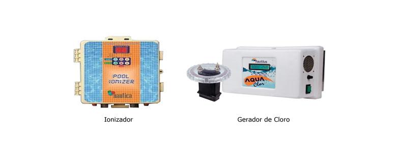 Ozonizador ionizador e gerador de cloro piscinas atiagua for Ionizador piscina